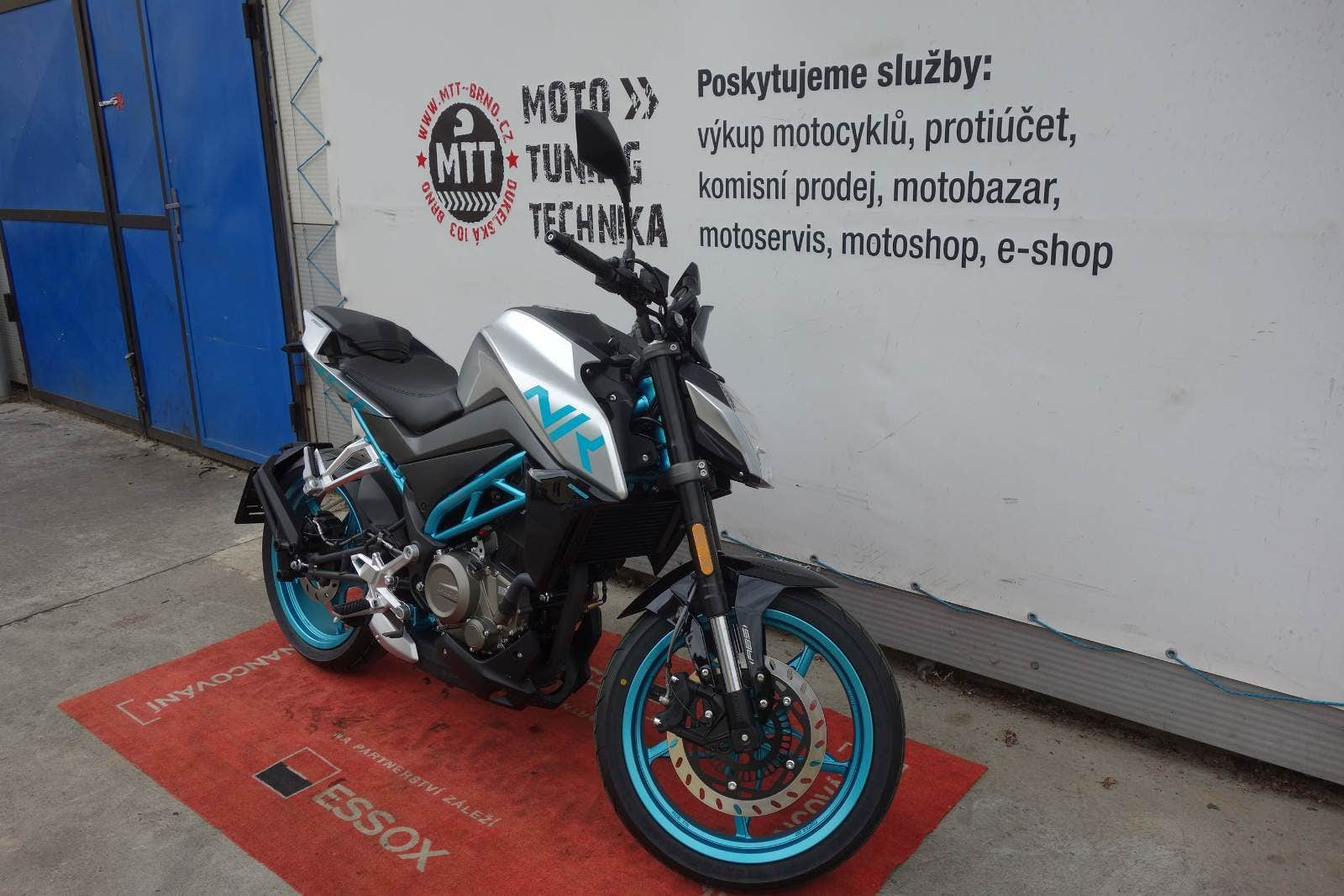 CFmoto 300 NK ABS Prodloženázáruka 5 let (2020), Brno