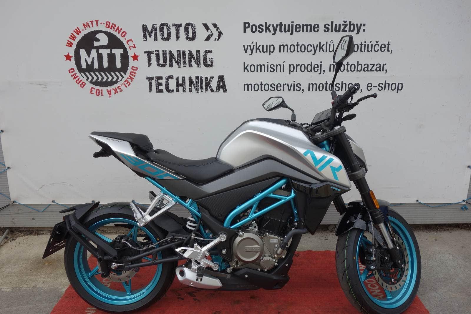 CFmoto 300 NK (NOVÁ, 2021), 89.300 Kč - TipMoto.com